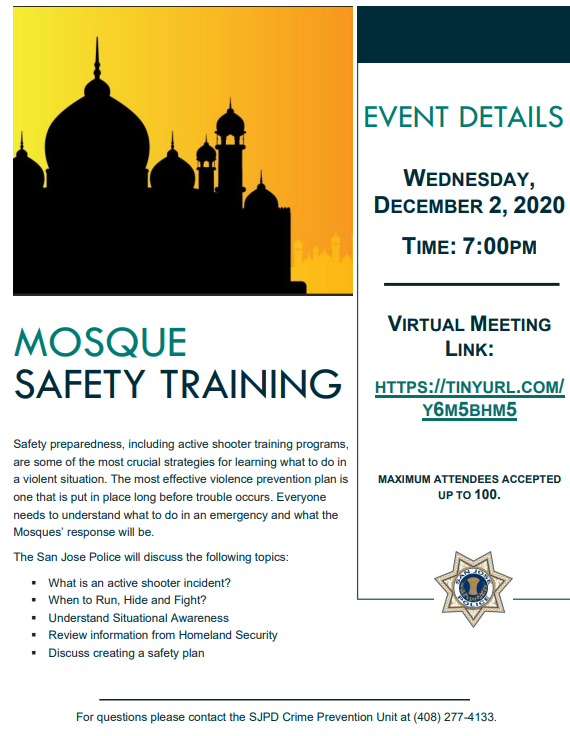 MosqueSafetyTraining
